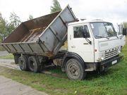 Грузоперевозки КамАЗ самосвал 10 тонн