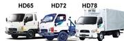 Запчасти для Hyundai Porter,  HD65,  HD72,  HD78,  County в Пензе