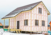 Утепление отделка фасада,  наружных стен дома,  дачи в Пензе