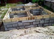 Строительство сборного ленточного фундамента и бетонного в Пензе