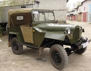 Продаётся легендарный автомобиль  ГАЗ 67Б